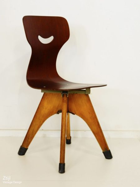 Pagholz Childrens Chair, 1950s
