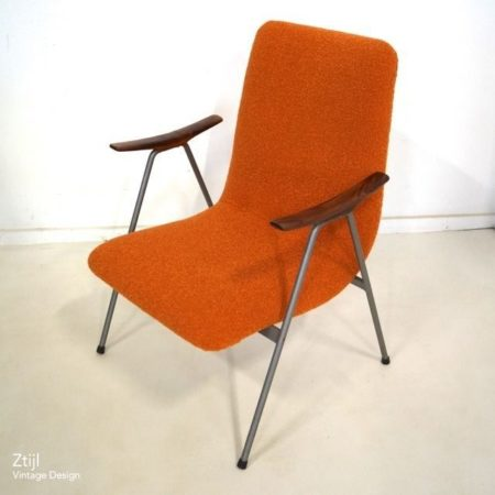 Vintage Easy Chair with Armrests, 1960s