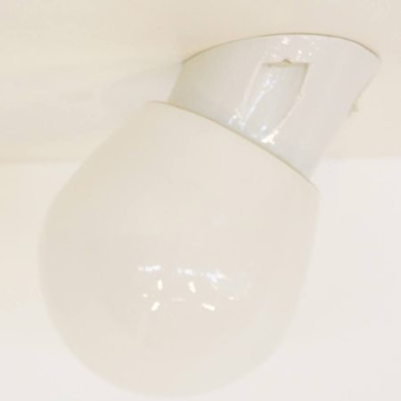 Porcelain wall or ceiling lamp '50s | Mid Century Design