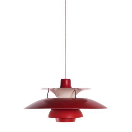 Red PH 5 pendant, Louis Poulsen | Mid Century Design