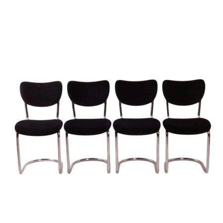 De Wit Cantilever Chairs | Mid Century Design