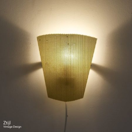 Perfolux Wall Lamp by Hiemstra & Evenblij, 1950s