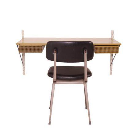 Pilastro Desk Designed by Tjerk Reijenga | Mid Century Design