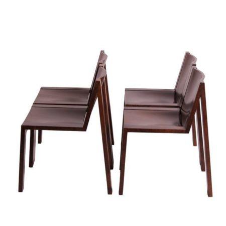 Four Pastoe SE15 Dining Chairs | Mid Century Design