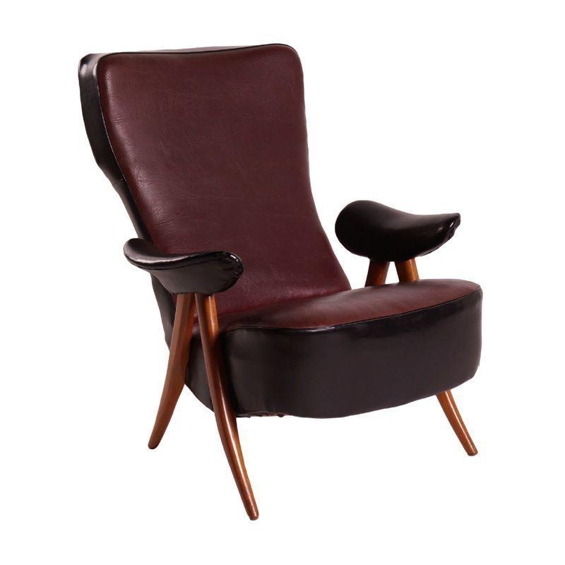 Swell Vintage Artifort Easy Chair Theo Ruth Model 107 Inzonedesignstudio Interior Chair Design Inzonedesignstudiocom