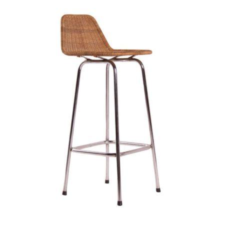 Dirk van Sliedrecht Stool Rohé Seat Height 75 cm | Mid Century Design