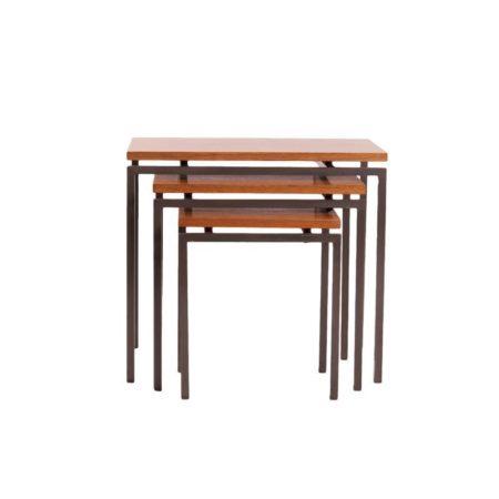 Stiemsma nesting tables teak | Mid Century Design