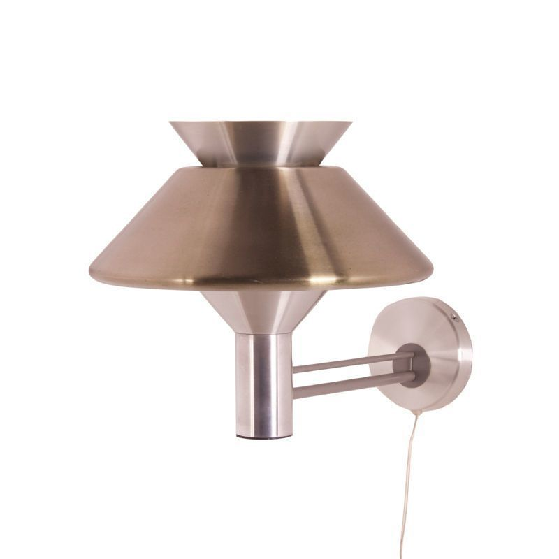 Wall Lamps Philips : Vintage Philips Wall Lamp Metal Ztijl