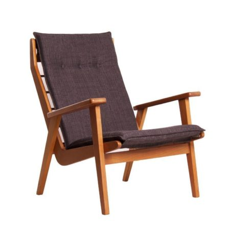 Rob Parry Easy Chair 1611 Black | Mid Century Design