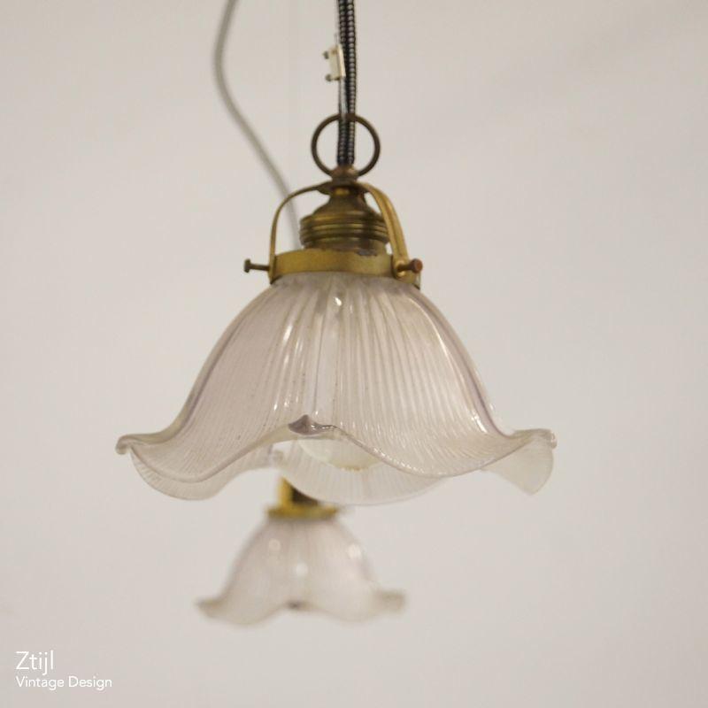 Vintage Art Nouveau Hanging Lamp 20s