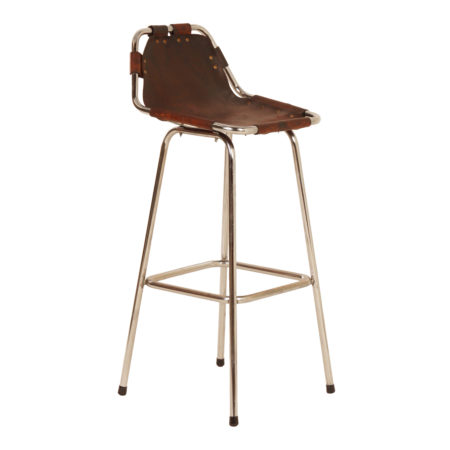 "Bar Stool ""Les Arcs"" for Charlotte Perriand, 1960s 