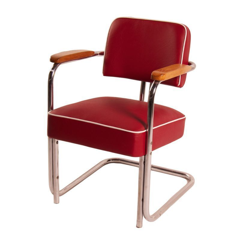 Combauhaus Chair Designs : Mid Century Design Tubular Chair with Legless Frame by Bauhaus, 1930s ...