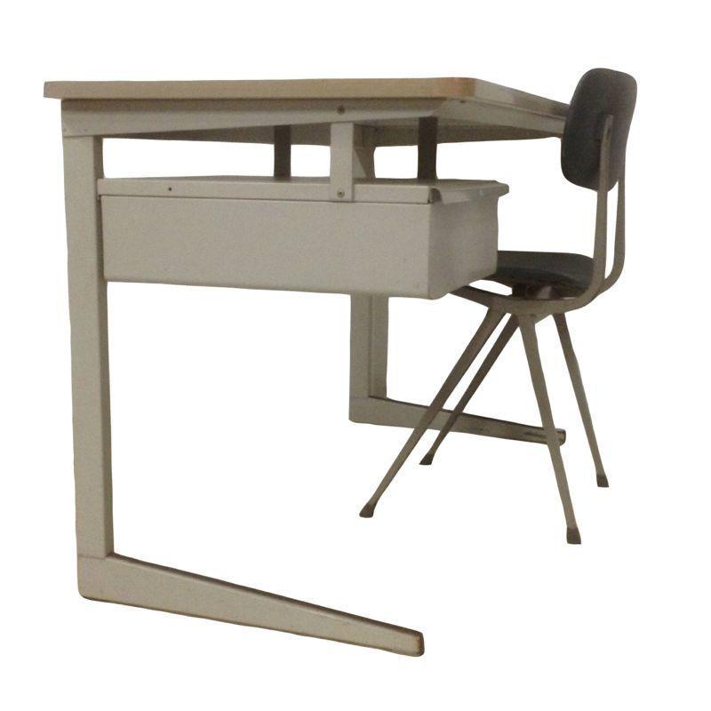 Vintage friso kramer result desk ztijl - Bureau design vintage ...