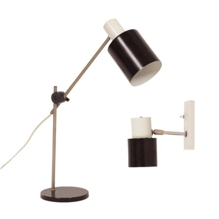 Hala Desk Lamp and Wall Lamp, 1960s | Mid Century Design