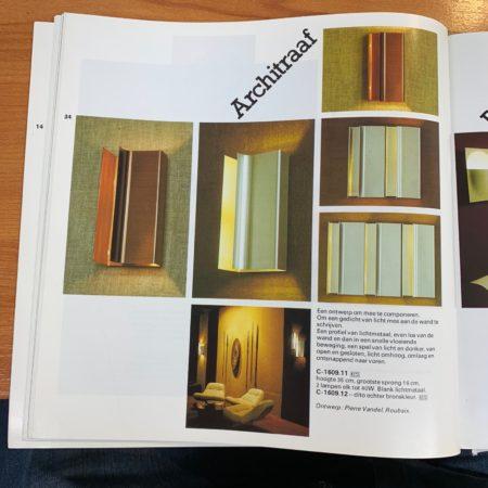 Architraaf Wall Light by Pierre Vandel for Raak, 1970s
