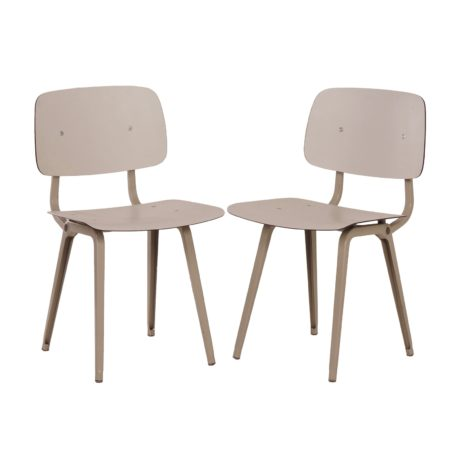 Set Revolt Chairs by Friso Kramer for Ahrend de Circle, 1950s | Mid Century Design