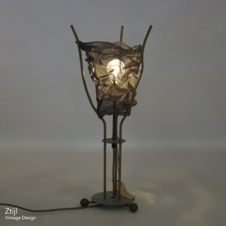 Metal Table Lamp by Rob Eckhardt, 1980s