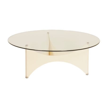 Round Coffee table by Werner Blaser for 't Spectrum, 1960s | Mid Century Design