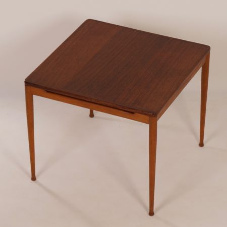 Teak Table Model 537 by Hartmut Lohmeyer for Wilkhahn, 1960s