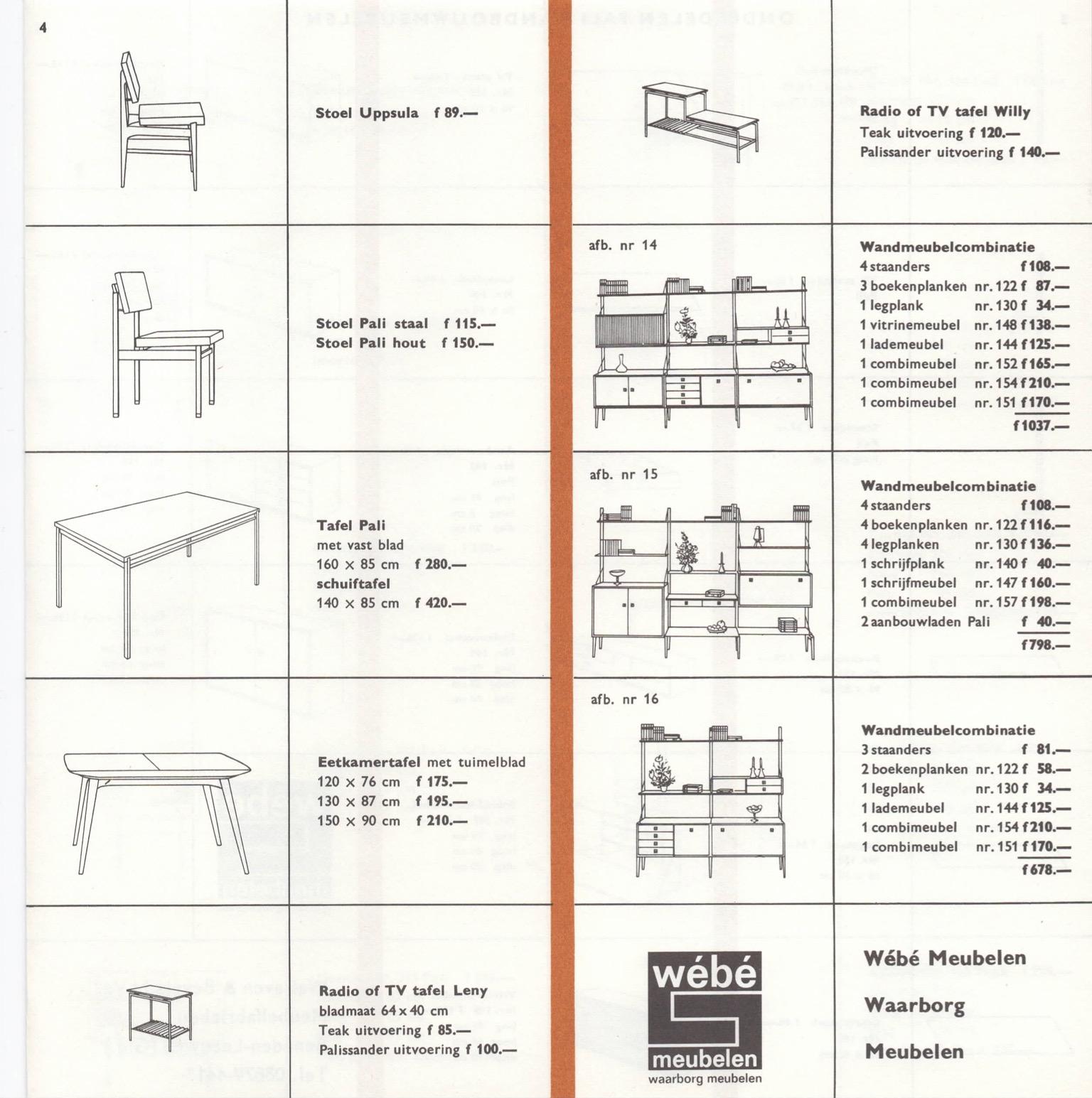 Teak Eetkamer Tafel.Vintage Pali Dining Chairs By Louis Van Teeffelen For Webe 1960s