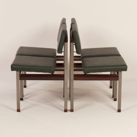 Pali Dining Chairs by Louis van Teeffelen for Wébé, 1960s