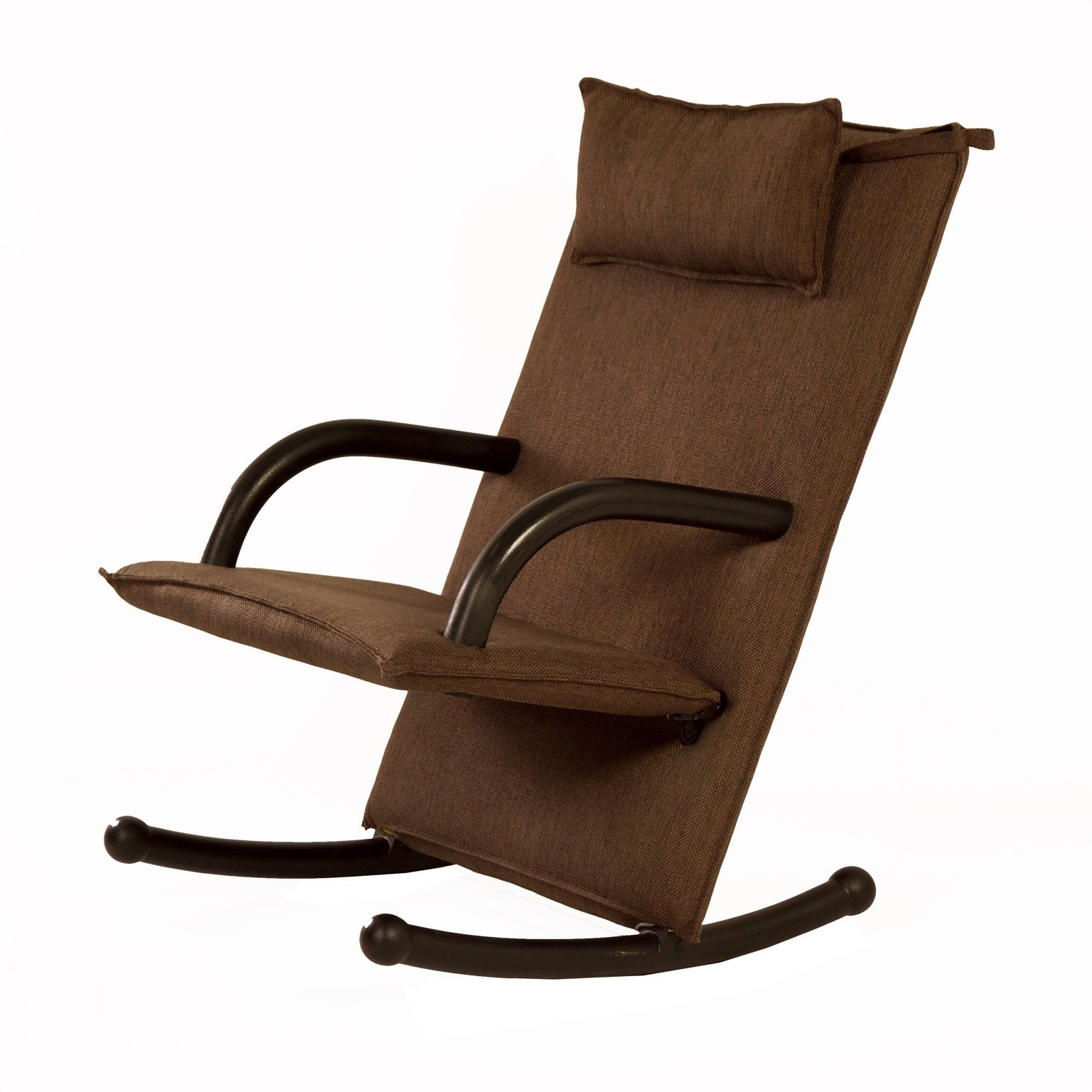 T Line Rocking Chair Designed By Burkhard Vogtherr For Arflex Italy 1980s
