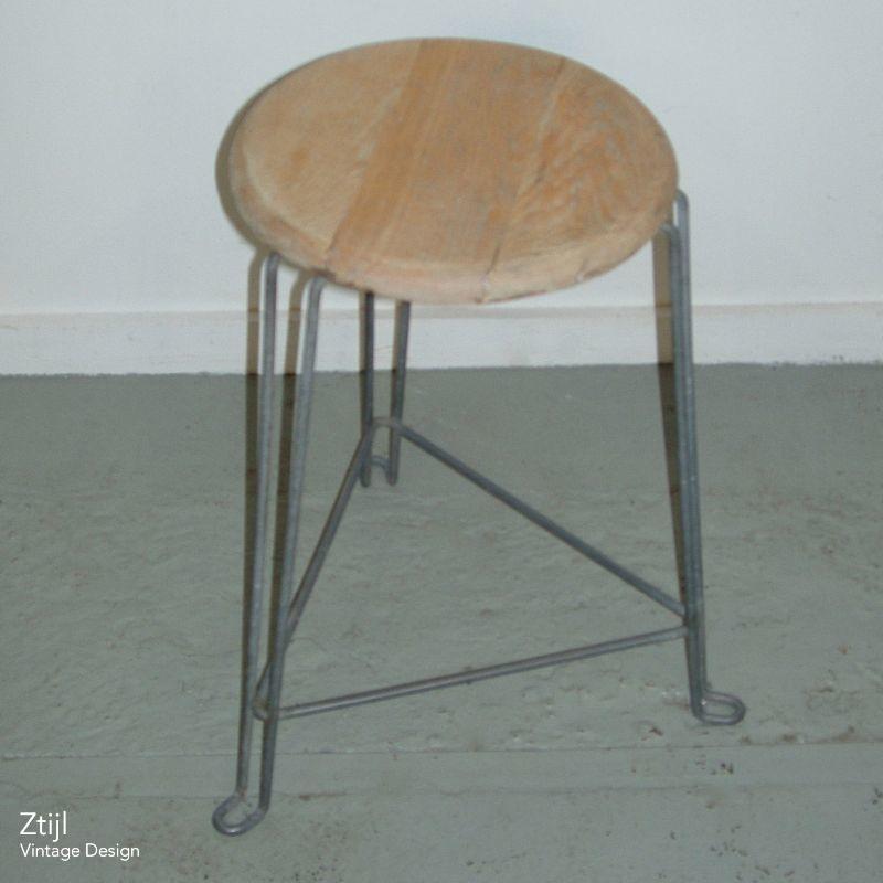 vintage tomado stool tabouret 39 30s ztijl. Black Bedroom Furniture Sets. Home Design Ideas