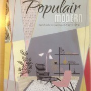Popular modern exhibition, dutch design from the fifties