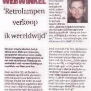 Newspaper Rotterdam Netherlands 2008