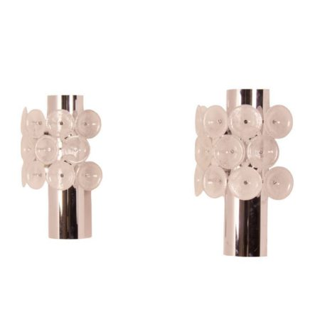 Murano Wall Lights, Italy | Set of Two | Mid Century Design