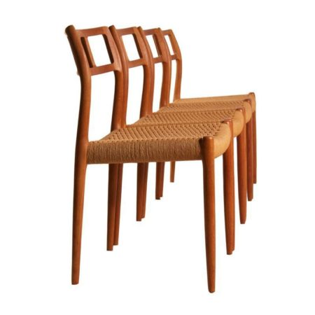 Moller Dining Chairs Model 79 | Mid Century Design