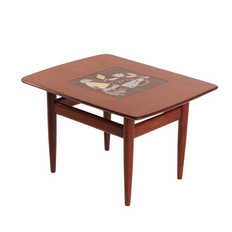 Vintage Webe Coffee Table By Louis Van Teeffelen Teak Wood Ztijl