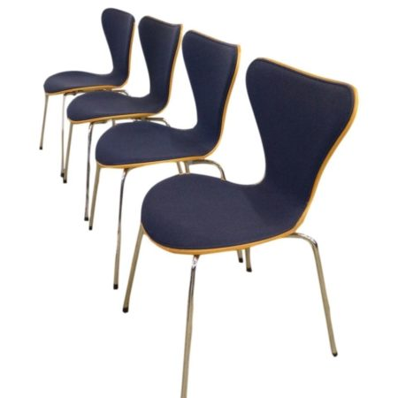 Arne Jacobsen Butterfly Chairs | Set of 4 | Mid Century Design