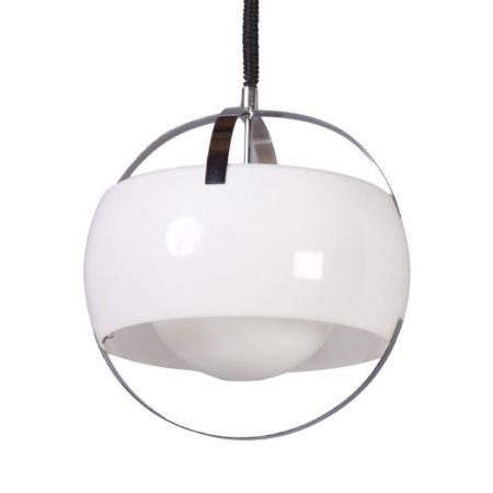 White Guzzini Pendant Lamp | Mid Century Design