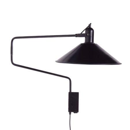 Black Anvia Elbow Light | Mid Century Design