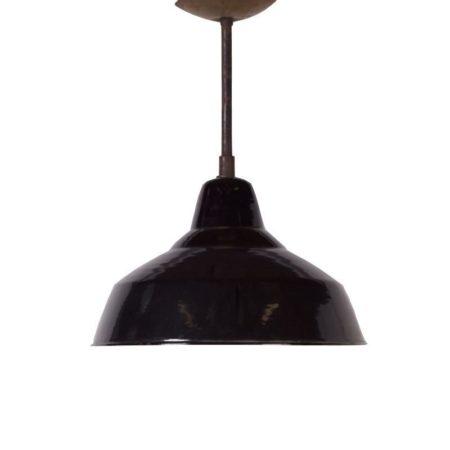 Black Industria Factory Lamp | Mid Century Design
