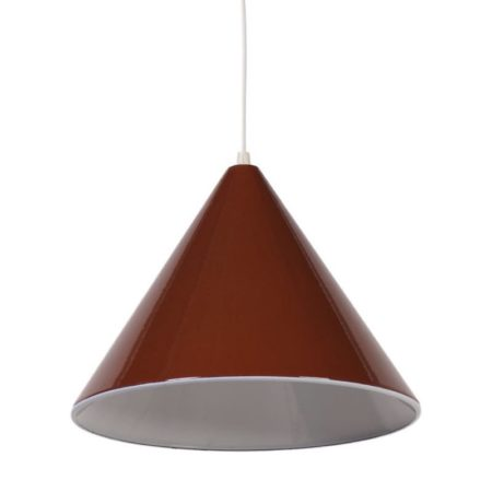 Arne Jacobsen Billiard Hanging Lamp | Enamel Brown | Mid Century Design