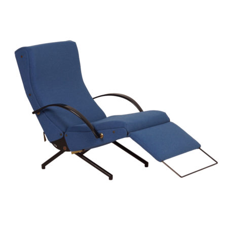 P40 Lounge Chair 1st Edition by Osvaldo Borsani for Tecno, 1950s | Mid Century Design