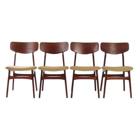 Webe Dining Chairs | Louis van Teeffelen | Mid Century Design