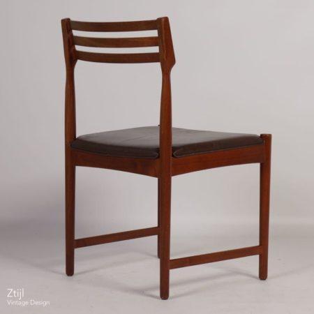 Bovenkamp Dining Chair by Severin Hansen | Dark Brown Leather