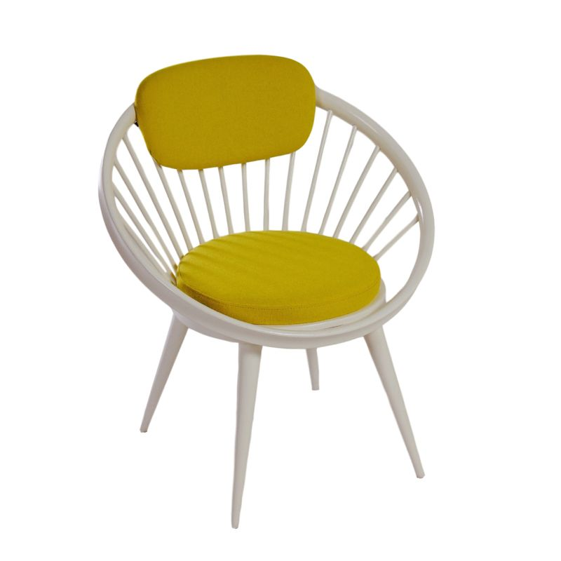 Vintage Circle Chair by Yngve Ekstrom for Swedese, ca 1960 Ztijl
