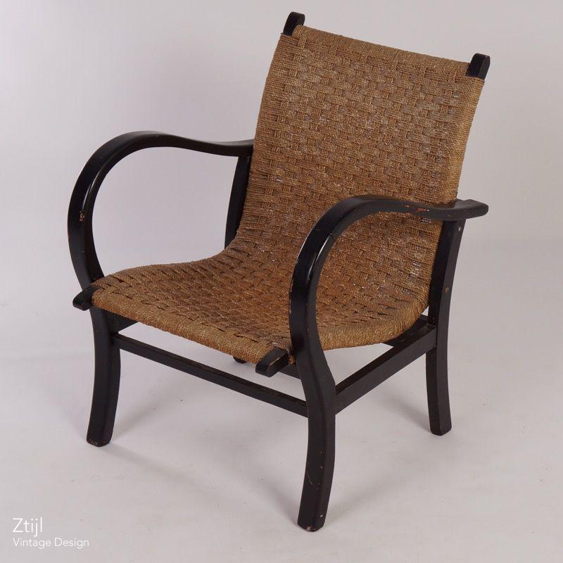 ... Vintage Easy Chair in the Style of Bas van Pelt, 1930s | Mid Century  Design ... - Vintage Vintage Easy Chair In The Style Of Bas Van Pelt, 1930s Ztijl