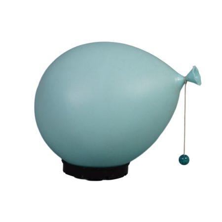 Blue balloon lamp by Yves Christin for Bilumen, 1980's | Mid Century Design