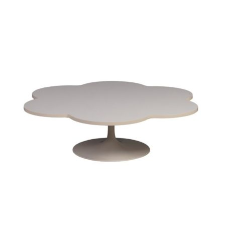 White Flower Table Model 826 by Kho Liang for Artifort, 1960s | Mid Century Design