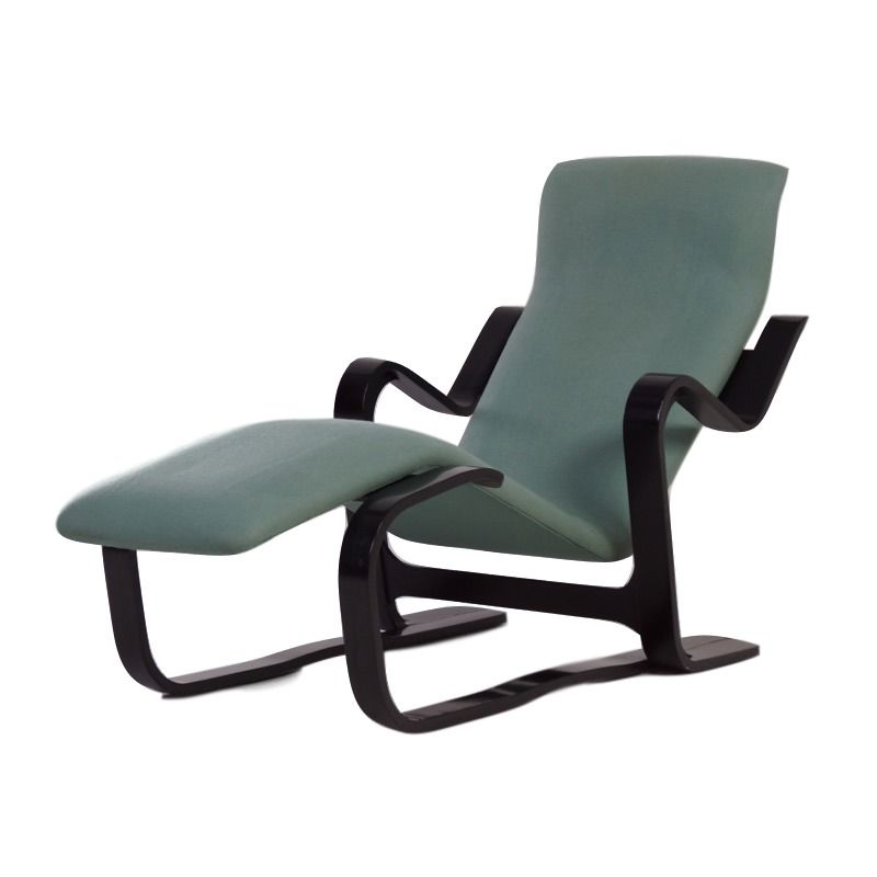 Vintage long chair by marcel breuer for knoll ztijl for Breuer chaise lounge