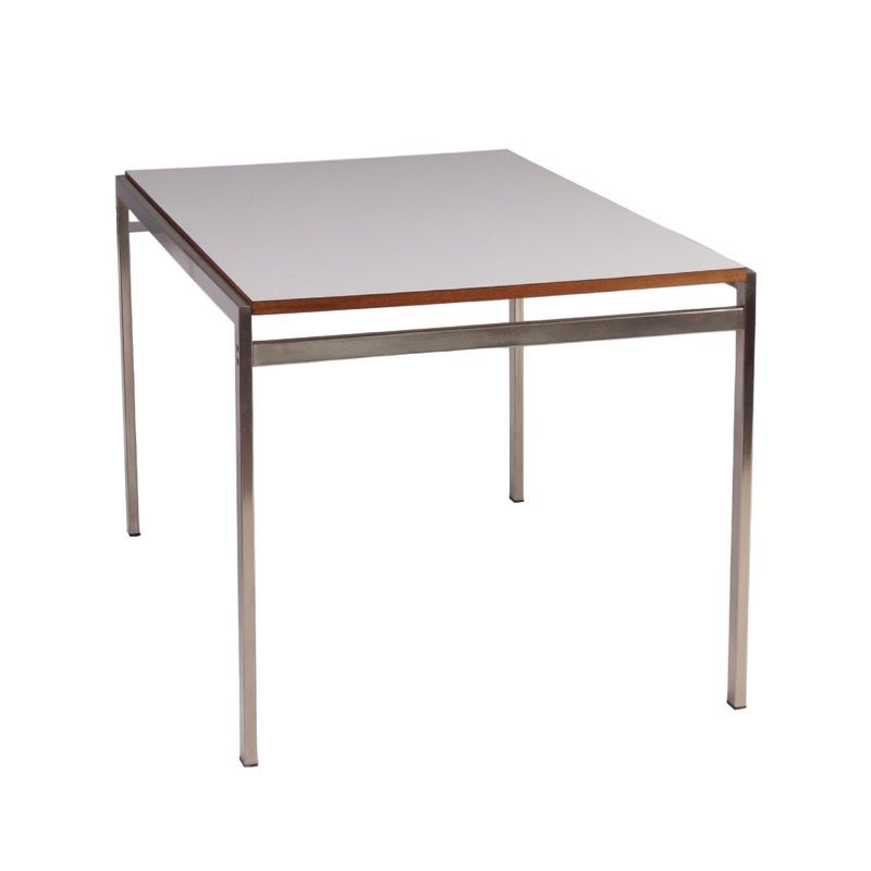 vintage white tu40 dining table by cees braakman for pastoe