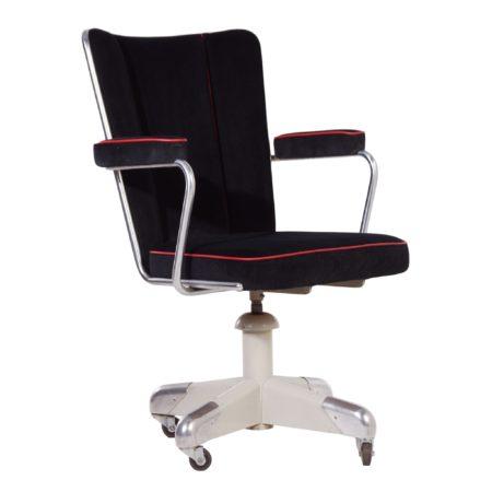 357 PQ President Deskchair by Ch. Hoffmann for Gispen, ca. 1953 | Mid Century Design