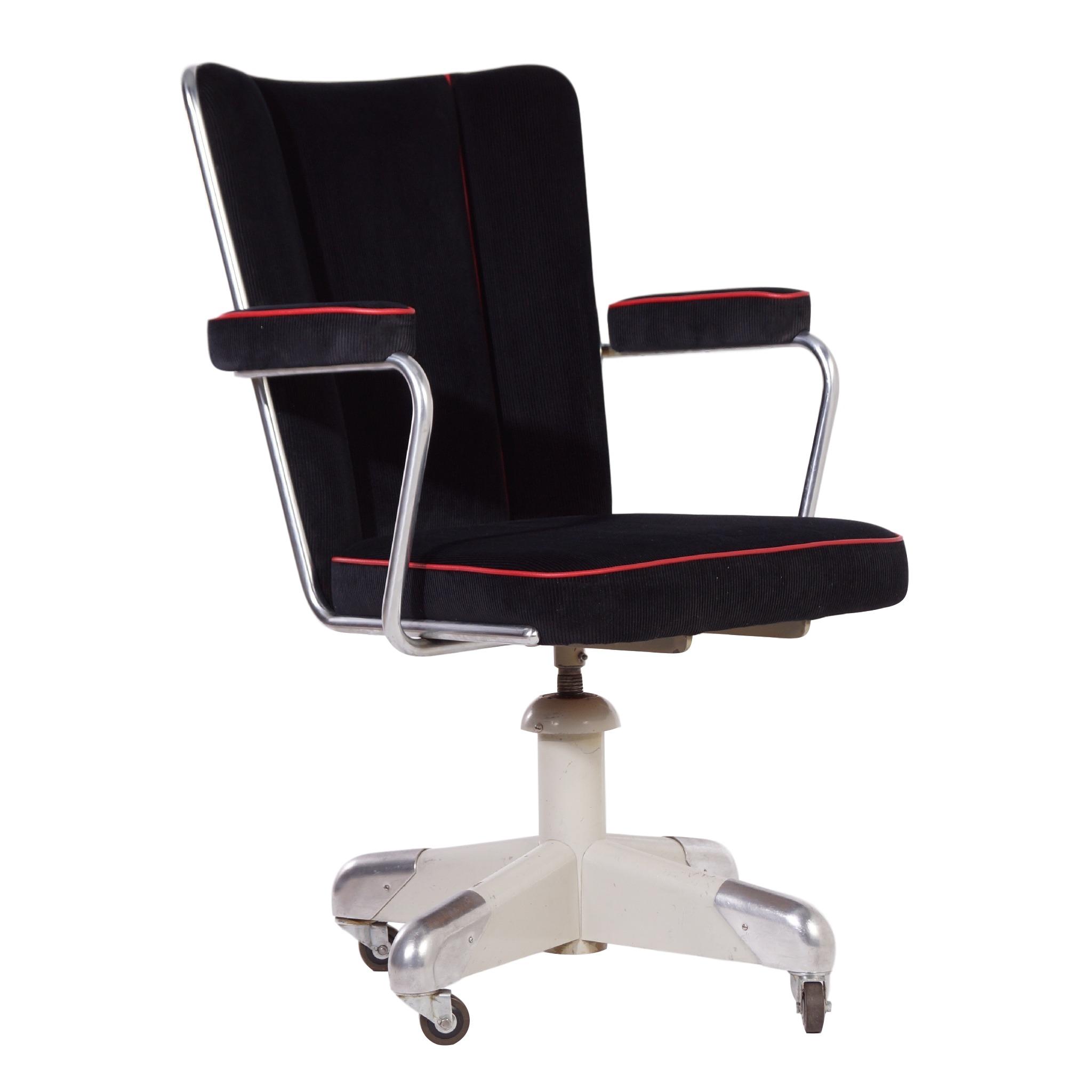 president office chair gispen. 357 PQ President Deskchair By Ch. Hoffmann For Gispen, Ca. 1953 | Mid Office Chair Gispen I