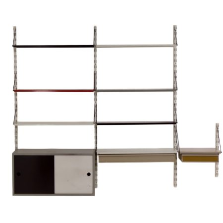 Pilastro Wall Unit With Cabinet by Tjerk Reijenga, 1960s