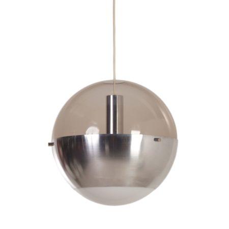 Pendant Lamp Luna by H. Willekes for Artifort, ca. 1950 | Mid Century Design
